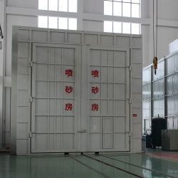 Sand Blasting Equipment of Suction Type Recovery System