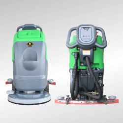 Mini New Hand Push Electric Ceramic Tiles Floor Scrubber Cleaning Machine Dqx5 5a