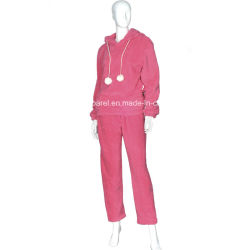 Women's Basic Design Velvet Pyjamas