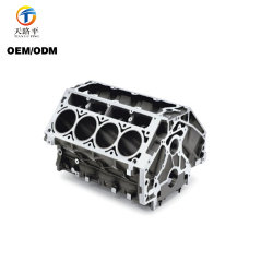 OEM Customized Investment Casting Motorcycle Accessories Cylinder Block