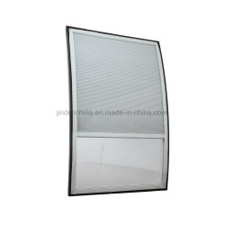 Curved Cellular/Honeycomb Between Glass Shades for Double Glazing Window