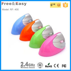 2.4G New Design Ergonomic Vertical Wireless Mouse Wtih Rechargeble Battery