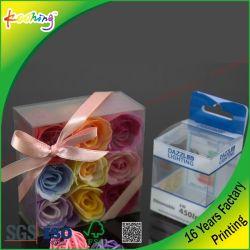 Transparent PP Pet Color Rigid Plastic Packaging Box For Pen