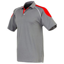 High Quality Sports Polo Shirt with Contrast Should Panel (PS243W)
