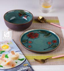 Newest Design Stone Ware Dinner Set 3 PCS Dinner Set