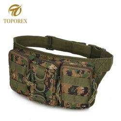 Adjustable Elastic Waistband Waterproof Fitness Military Fanny Pack Belt Sports Waist Bag