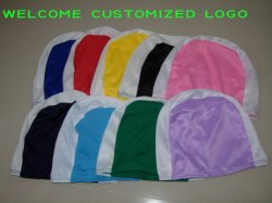 Customized Printing Polyester Swimming Cap at Lowest Price