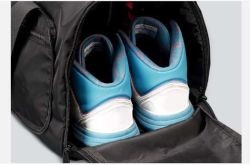 Promotion Custom Carry on Waterproof Sport Travel Gym Bag with Shoe Compartment