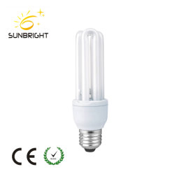 3u Pakistan E27 18W 8000hours CCFL Energy Saving Lamp