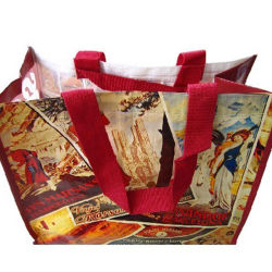 Promotion PP Woven Bag Tote Bag Grocery Bag (YH-PB056)