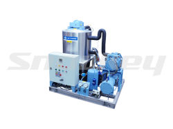 Fast Cooling Efficiency Slurry Ice Machine on Boat Use 5t/D