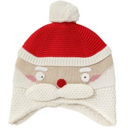 25dcfc43dc1 100% Cotton Winter Warm Toddler Beanie Knitted Christmas Baby Hat