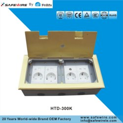 IEC60884 Standard Electrical Socket/Floor Box OEM Factory