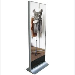 32~98 Inch Magic Mirror Glass with LCD Screen HD Display Network WiFi Ad Player Multimedia Kiosk Video Advertising Player Digital Signage