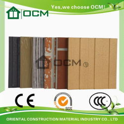 Heat Insulation Outdoor Fiber Cement Exterior Wall Siding