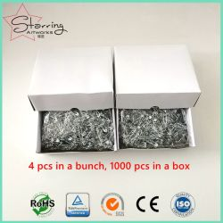China Wholesale 4PCS Bunched 28mm Safety Pins for Race Bib