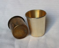 OEM Things Remembered Metal Brass Cup
