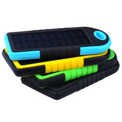 Factory Cheapest Portable Waterproof Solar Battery Charger Power Bank Universal