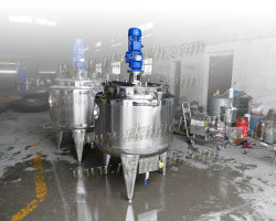 200L Electric Heating Mixing Tank with Bubble Breaker