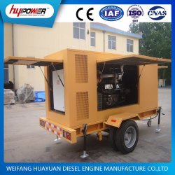 Industrial 20kw to 200kw Water Cooled/Powered/Electric Diesel Generator Power by Cummins Engine or Ricardo Engine