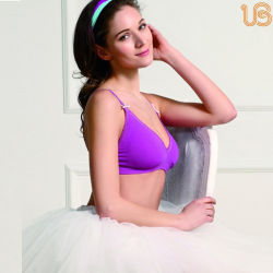 dcbffe150a69f Hot Sexy Women Quarter Cup Shelf Bra