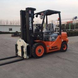 Fd35 3.5 Ton Rotator Forklift Attachment Diesel Powered Forklift Rotating Forks
