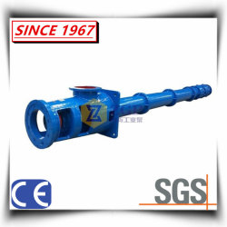 Vertical Long Shaft Spindle Turbine Pump, Submerged Chemical Water Centrifugal Pump, Submerged Sump Slurry Pump, Semi-Submersible Pump China