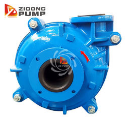 """4"""" Anti Corrosion Horizontal Rubber Lined Tailing Transfer Slurry Pump"""