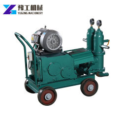 Anti-Abrasive Slurry Piston Grouting Concrete Pump