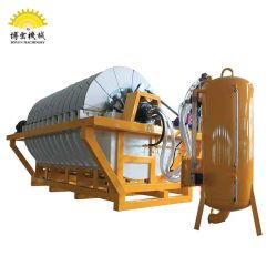 Mineral Slurry Dewatering High Efficient Vacuum Ceramic Disc Filter Separator
