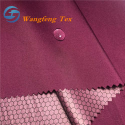 TPU Film Coated High Stretch Poly Pongee Sportswear Spandex Fabric