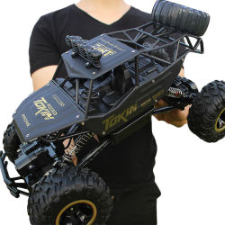 Oversize, Alloy, off-Road, Four-Wheel Drive Children's Toy Remote Control Car