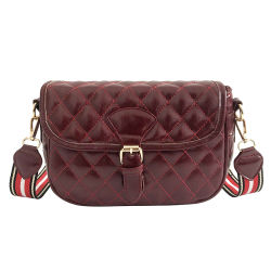 b7ea863ef8 Women Fashion Messenger Bags Red Shoulder Bag High Quality PU Crossbody Bags  for Women