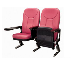 High Quality PP and Aluminum Alloy Leg Auditorium Seating (RX-347)