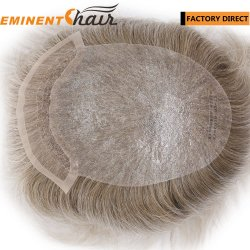 Wholesale Price Lace Front Human Hair Men's Hairpiece