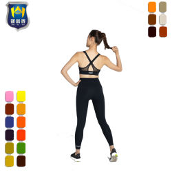 Sports Bra Leggings Jogging Gym Set Seamless Workout Sports Seamless Yoga Set
