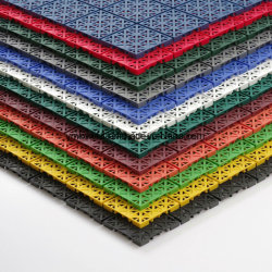 Indoor Use Anti-Slip Waterproof Multi-Sport Polypropylene Plastic Interlocking Mat