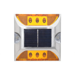 Single Side High Brightness Blue Flashing Led 3m Road Reflector Solar Powered Led Road Stud Factories And Mines Roadway Safety