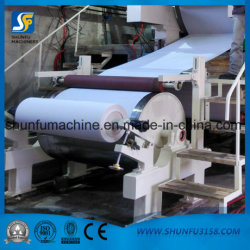 Waste Paper Pulp Recycling and Processing Equipment Making Toilet Paper Roll