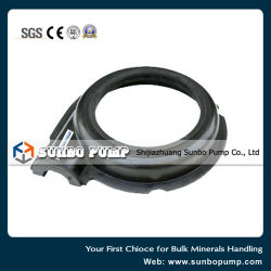 Horizontal Slurry Pump Rubber Lined Pump Parts