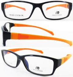 New Design Grilamid Tr90 Eyeglass Frames with Double Injection