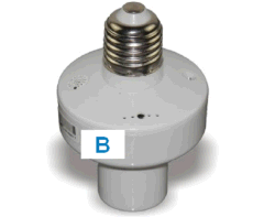 RF Remote Control Lamp Holder with CE (ES-9031LHB)