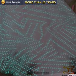 100% Polyester Noctilucent DOT Fabric Chinese New Fabric for Sportswear