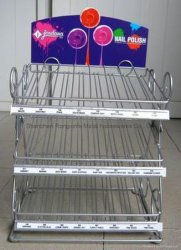 Four Layer Pop Display Shelf for Supermarket and Exhibition/Advertising (SLL07-D014)