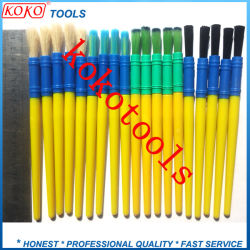 Various Plastic Handle Plastic Ferrule Cleaning Artist Brush Pen
