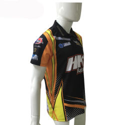 2018 Sublimation Sportswear Gear Dry Fit Customized Golf Polo Shirt