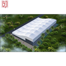Steel Structure Sport Stand Membrane Structure Tent for Tennis Sport Court
