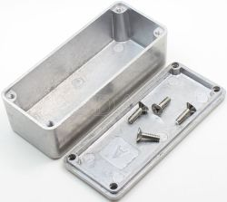 1590A Guitar Die Cast Pedal Enclosure Aluminium Project Box