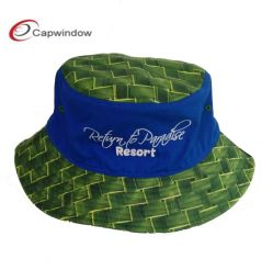Fashionable Fisher Man Bucket Hat with Embroidery (1508)