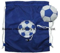 Foldable Draw String Bag, Football, Leisure, Sports, Promotion, Accessories & Decoration, Lightweight, Convenient and Handy